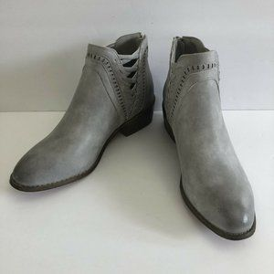 Boutique by Corkys Vegan Faux Leather Ankle Boots
